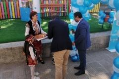 Откриване на реновирана детска площадка